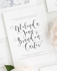 Romantic calligraphy wedding invitations wedding for Free printable calligraphy wedding invitations