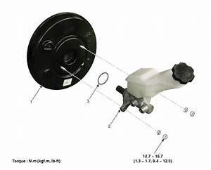 Kia Sorento  Brake Booster Components