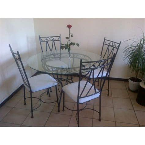 table et chaises conforama table verre et fer forgé 4 chaises conforama pas cher