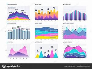 Financial Infographic  Business Bar Graph And Line