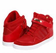 Red adidas high tops  Adidas High Tops Women  Fitness Shoes  Fashion      Adidas Shoes High Tops Red