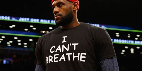 lebron james wears   breathe  shirt  solidarity