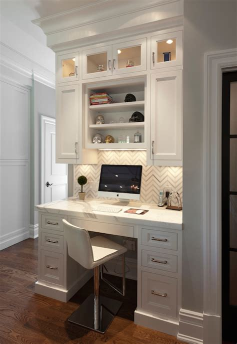 desk with cabinets built in built in kitchen desk design ideas