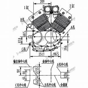 Motor Lifan Custom 400cc V-shape  2v68fmq