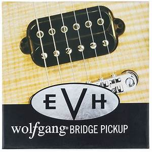 Evh U00ae Wolfgang Bridge Pickup Black  U2013 Eddie Van Halen Merch
