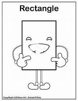 Coloring Shapes Preschool Rectangle Printable Emoji Shape Bee Resources Basic Freepreschoolcoloringpages Activities Preschoolers sketch template