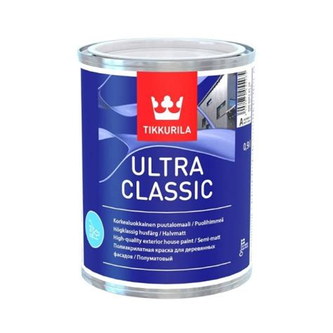 Tikkurila Valtti Ultra Exterior Wood Paint for exterior surfaces, weather resistant for ultimate ...