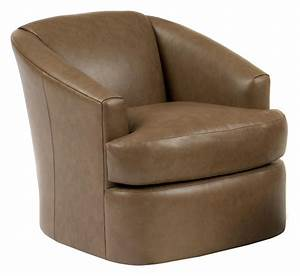 Contemporary, Barrel, Swivel, Chair, By, Smith, Brothers