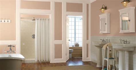 almond biscuit paint bathrooms behr