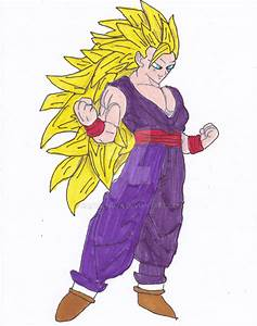 Super Saiyan 3 Gohan by KATTALNUVA on DeviantArt