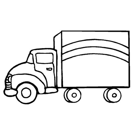 Trailer Drawing Getdrawings Free For Personal Use