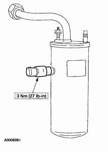 Replacing A  C Accumulator  Air Conditioning Problem V8
