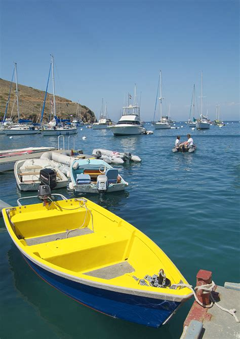 Two Harbors Dive Boat by Two Harbors Fishing Skiff Rentals Visit Island