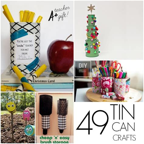 crafts with metal cans