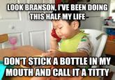 Baby Phone Meme - business baby know your meme