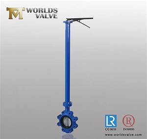China Ggg40 Lug Type Butterfly Valve With Extension Stem