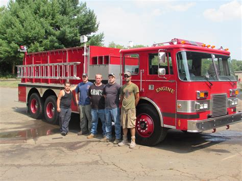 Used pumper tanker | New Fire Truck Delivery | New England ...