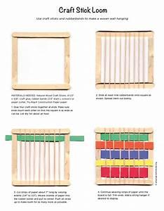 Craft Stick Loom Project