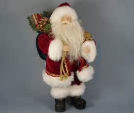 quot traditional santa with gifts quot santa claus figure traditional holiday accents and figurines