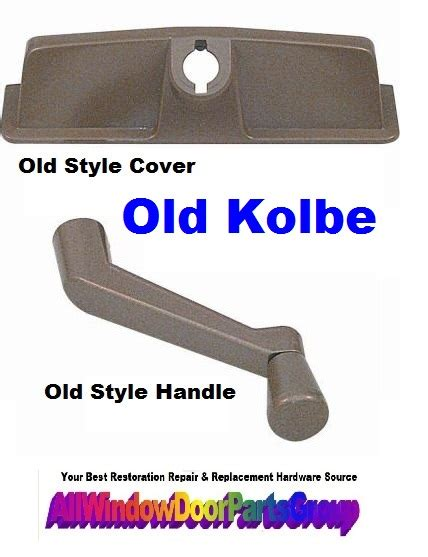 kolbe  style casement window operator cover  handle truth window hardware
