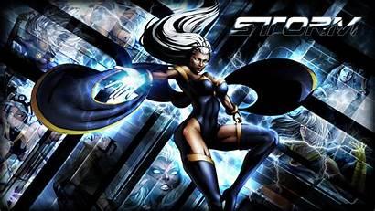Storm Marvel Comics Superhero Female Woman Background