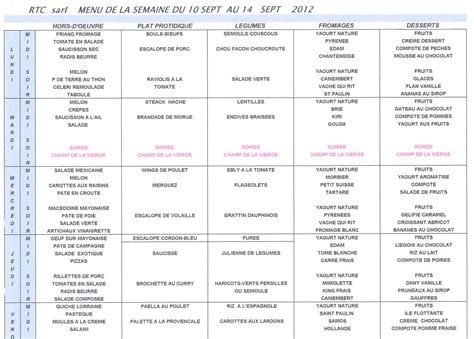 coll 232 ge lyc 233 e joseph nay 187 repas 187 au menu de la semaine du 10 au 14 septembre 2012
