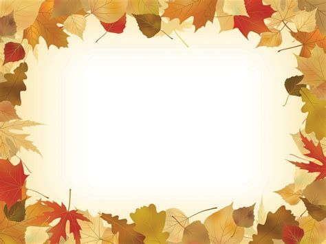 Autumn Leaves Fall Backgrounds Powerpoint by Best 50 Autumn Leaves Powerpoint Backgrounds On