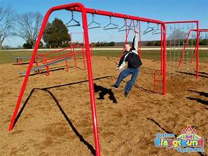 Commercial playground swing bars for fitness ...