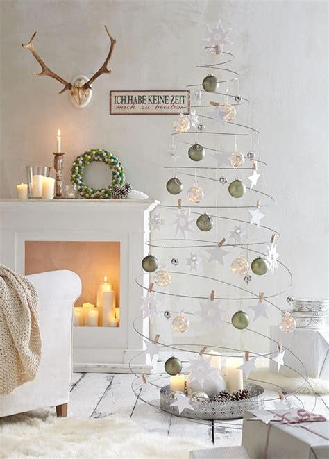 weihnachtsdeko fenster modern minimalistische weihnachtstrends farben deko und tolle