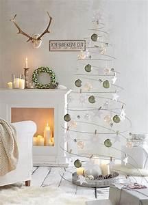 Weihnachtsdeko Ideen 2017 : minimalistische weihnachtstrends farben deko und tolle ~ Whattoseeinmadrid.com Haus und Dekorationen
