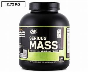 Optimum Nutrition Serious Mass Protein Powder Chocolate 2 72kg