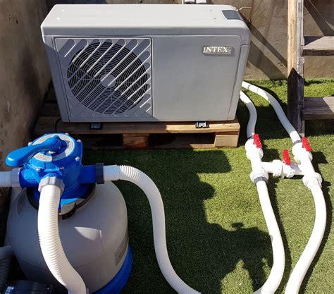 pompe a chaleur piscine pompe 224 chaleur intex pour piscines hors sol ou enterr 233 es