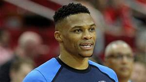 Russell Westbrook accidentally knocked over the Rockets ...