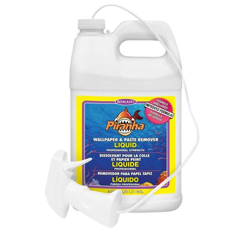 Shop Piranha 128oz Liquid Wallpaper Remover At Lowescom