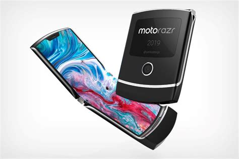 gorgeous looking believable motorola razr 2019 concept appears android headlines