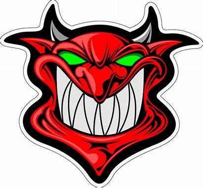 Cartoon Demon Face Head Satan Vector Pixabay