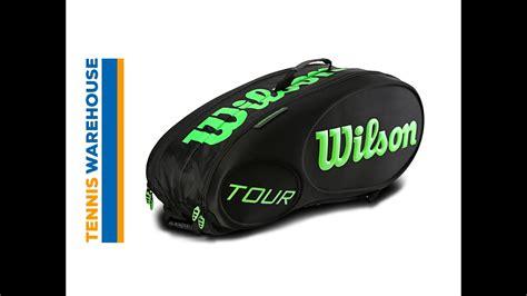 wilson  molded  pack bag youtube