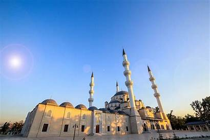 Kyrgyzstan Mosque Largest Central Inaugurates Asia Erdoğan