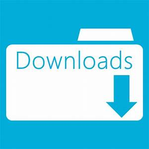 Folder downloads folder icon windows 8 metro icons for Download documents for windows