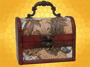 Coffre à Bijoux Bois : boite d corative range bijoux mini coffre bois cuir ~ Premium-room.com Idées de Décoration