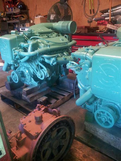 detroit diesel   rebuilt marine engines