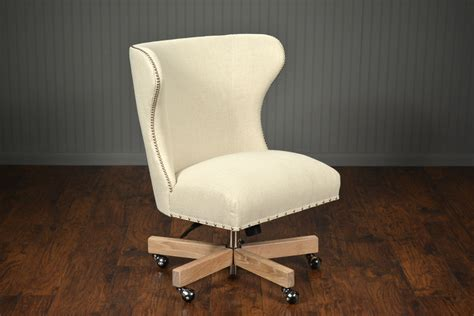 upholstered office swivel chair mecox gardens