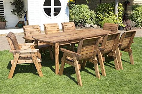 Outside Garden Furniture by Wooden Garden Dining Sets Co Uk