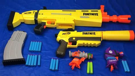 nerf fortnite toy guns box  toys scar battle royale