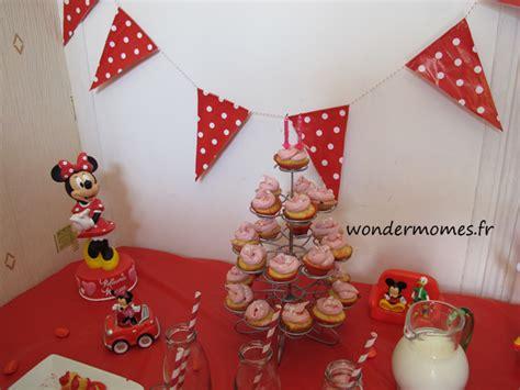 sweet table minnie pour ses deux ans wondermomes