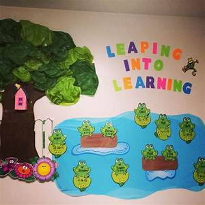 Quot leaping into learning toddler classroom decorations