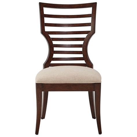 wood side chairs stanley furniture virage wood side chair with modern 1149