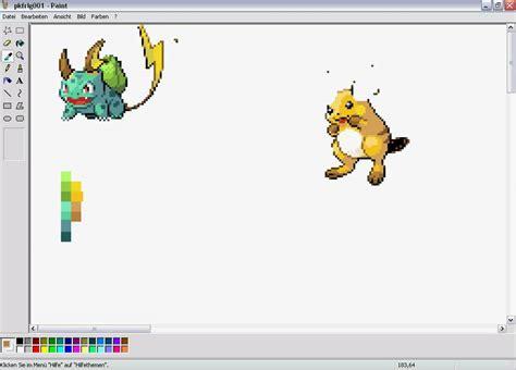 Pokémon Sprites Hack  Sprites Selber Erstellen Youtube
