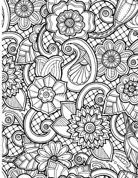 best of henna flower coloring pages gallery