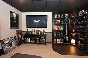Batman Fan Builds An Incredible Real-Life Batcave In His